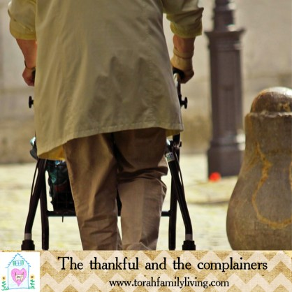 The thankful and the complainers