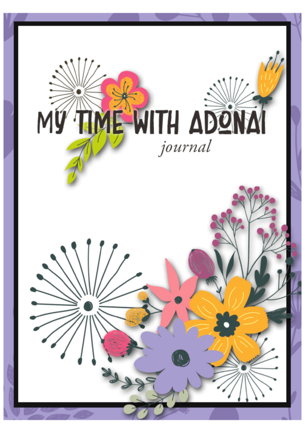 My Time with Adonai journal