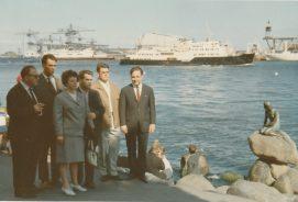 Blindensportgruppe in Koppfenhagen im Juni 1967