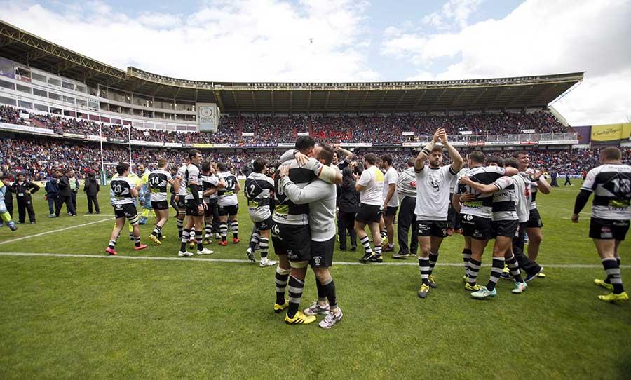 Disponibles entradas y autobús gratuitos para la final de la Copa del Rey de Rugby
