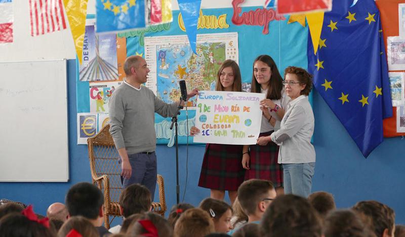 El Colegio Divina Providencia celebra el Día de Europa