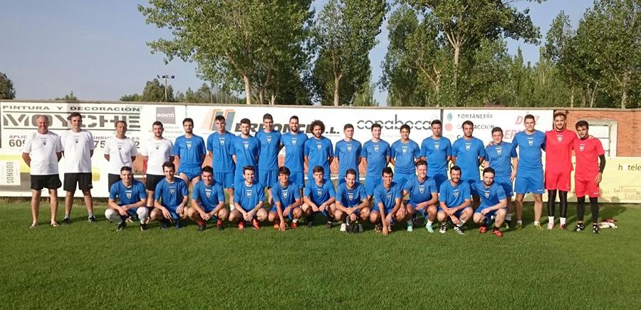 El nuevo Atlético Tordesillas se pone en marcha