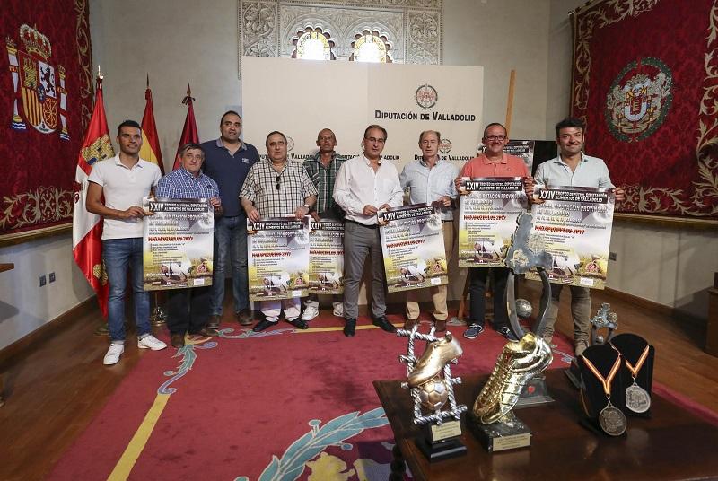 El Atlético Tordesillas buscará revalidar título en el XXIV Trofeo Diputación de Fútbol