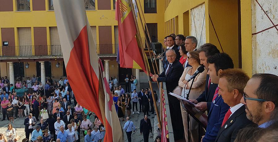 Tordesillas abre las fiestas con el pregón de Cristian Clarasó Hofmann
