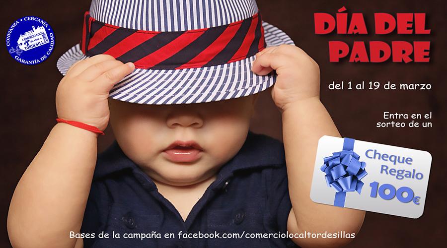 Los comercios de Tordesillas premiarán a su clientela por el Día del padre