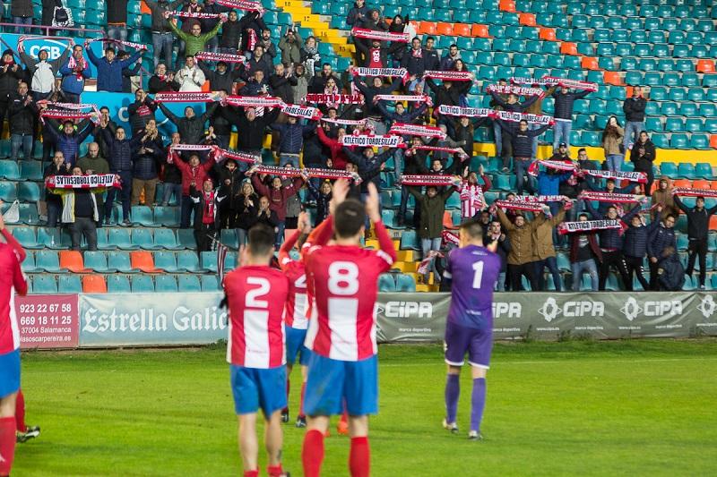 El orgullo del Atlético Tordesillas no puede con la pegada del Salmantino