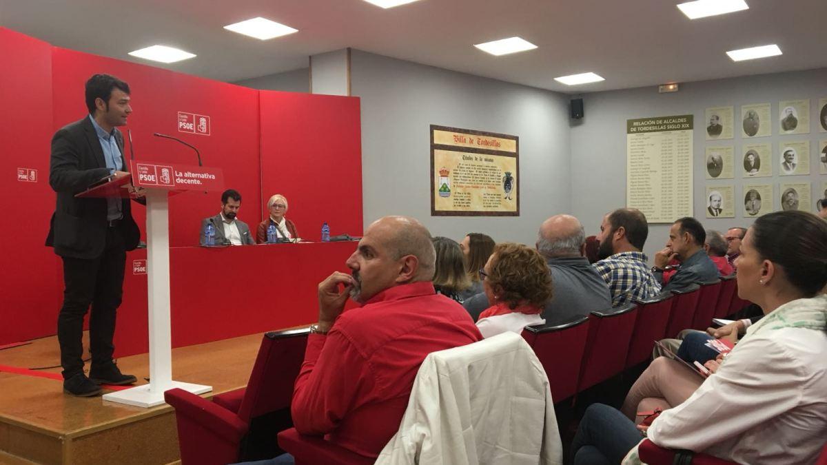 """El PSOE regional se cita en Tordesillas para hablar sobre """"servicios sociales"""""""
