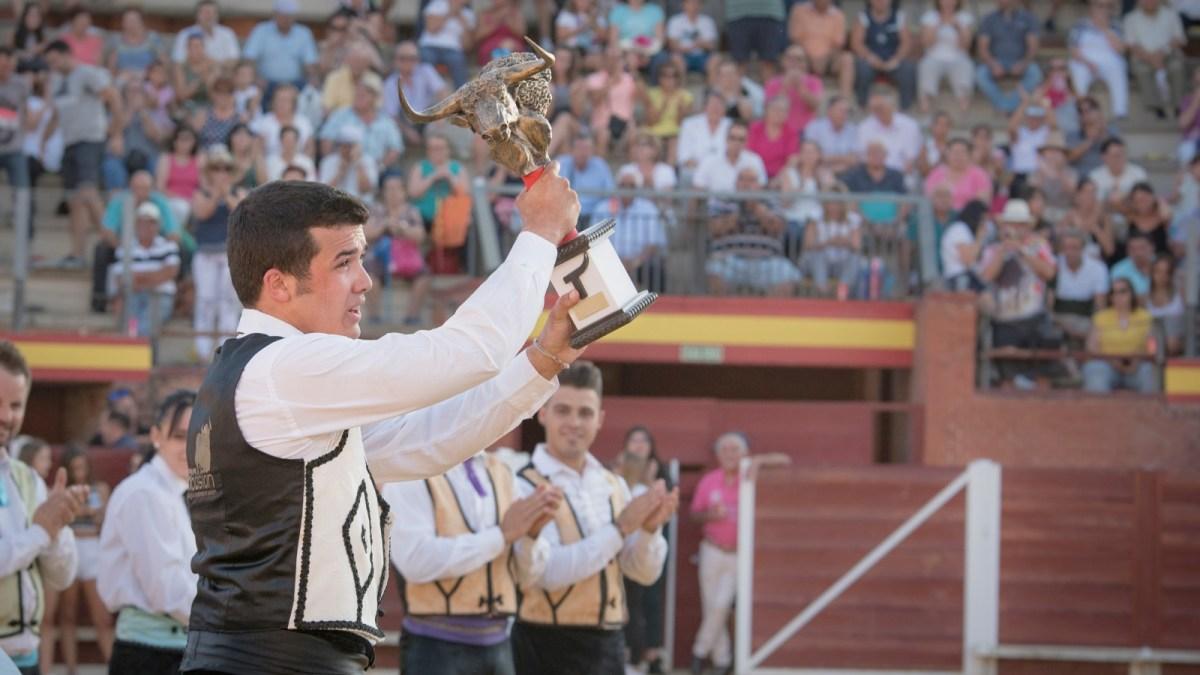 César Ramos se impone en el concurso de cortes de Tordesillas