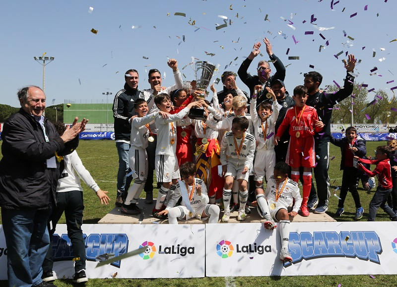 El Real Madrid impone su ley en la IX IscarCup