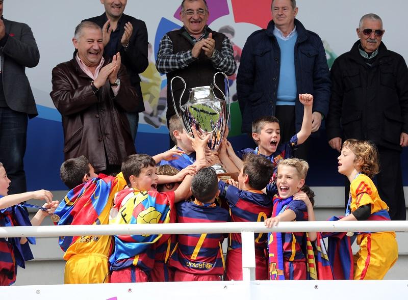 LaLiga renueva su apuesta por el trofeo benjamín que se disputa en Tordesillas