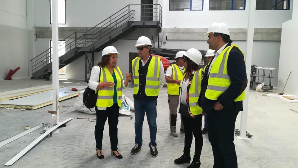 La eurocandidata socialista Iratxe García visita Tordesillas
