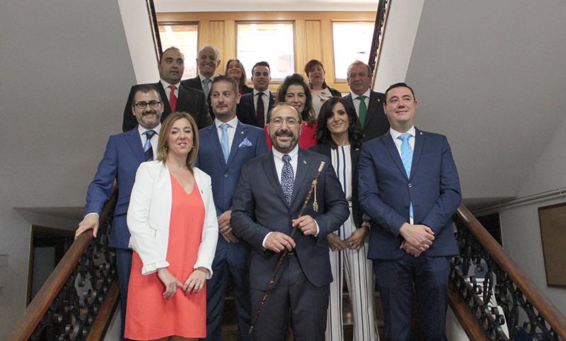 Miguel Ángel Oliveira investido alcalde de Tordesillas