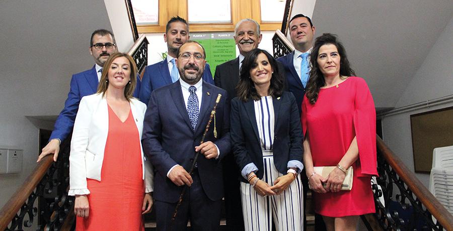 El nuevo equipo de gobierno estará dividido en siete concejalías
