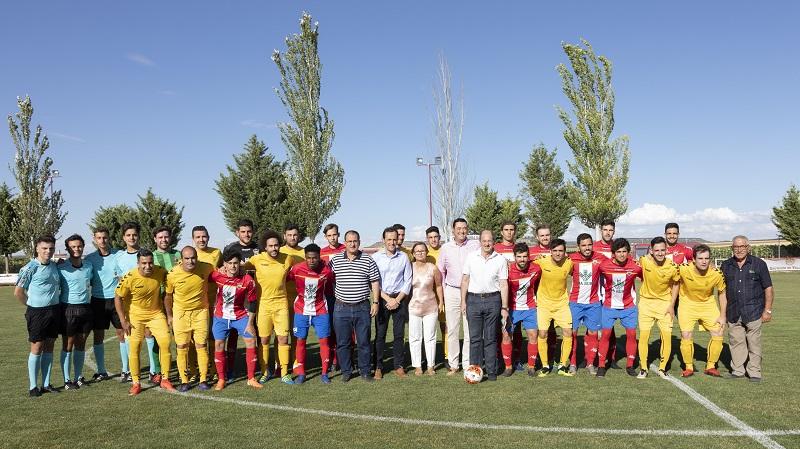 El Atlético Tordesillas vuelve a entrar en la pugna por el Trofeo Diputación de Valladolid