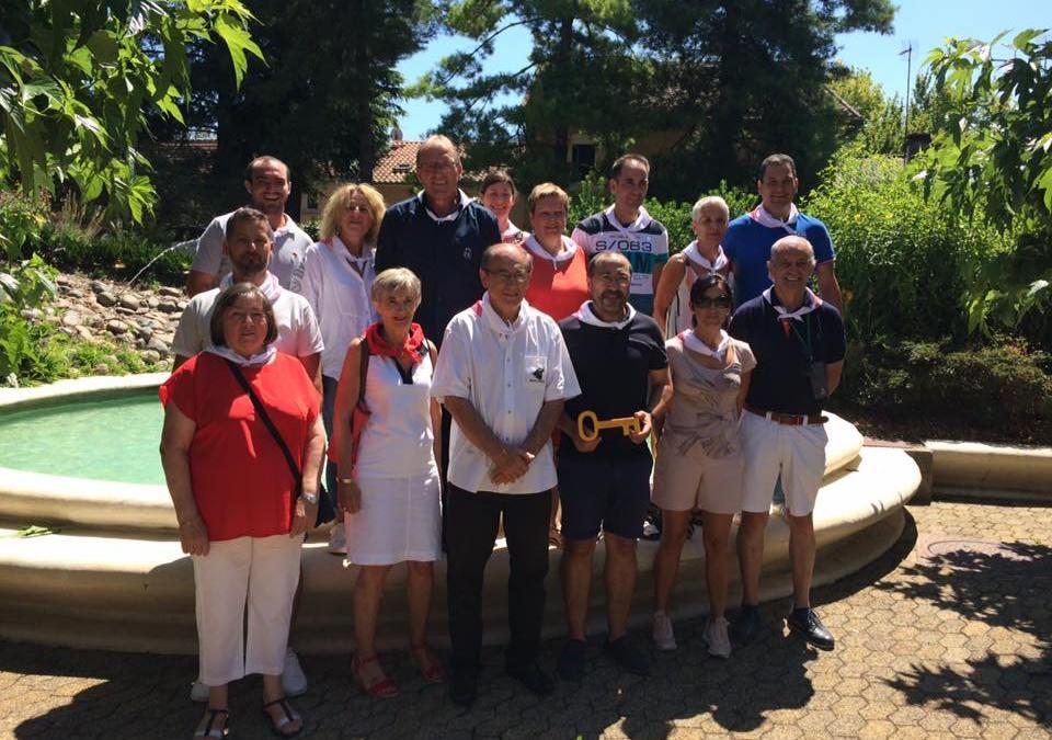 Tordesillas estrecha sus lazos con la localidad francesa de Hagetmau