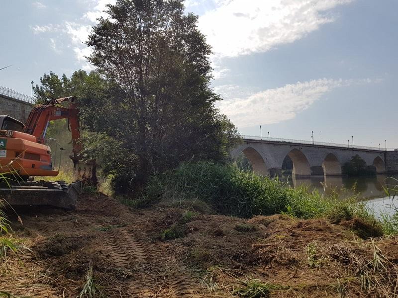 """El Puente Medieval de Tordesillas """"permanecerá cerrado durante tres semanas"""""""