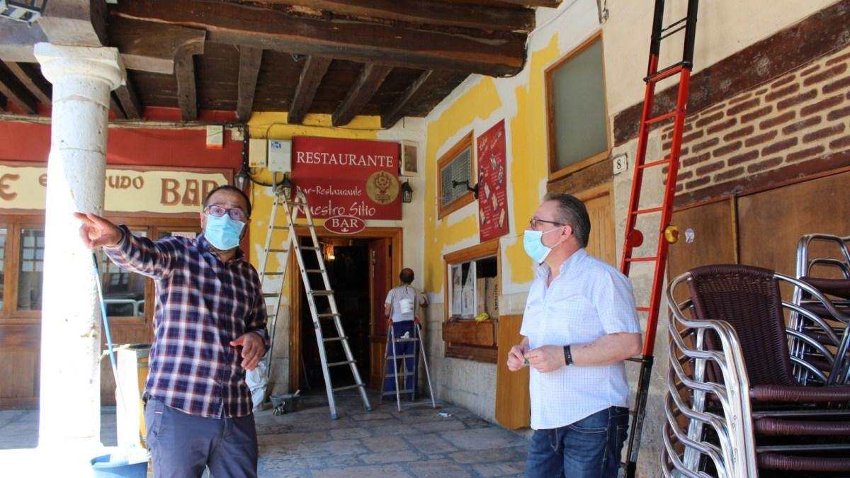 Bares y restaurantes de Tordesillas ya se preparan para la reapertura