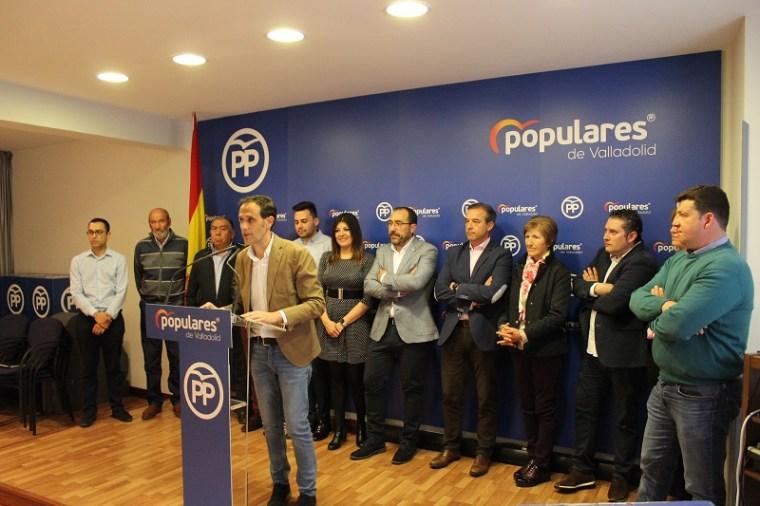 """Oliveira alega que """"no se ha consultado a las bases del PP"""" para erigir a Íscar presidente provincial del partido"""