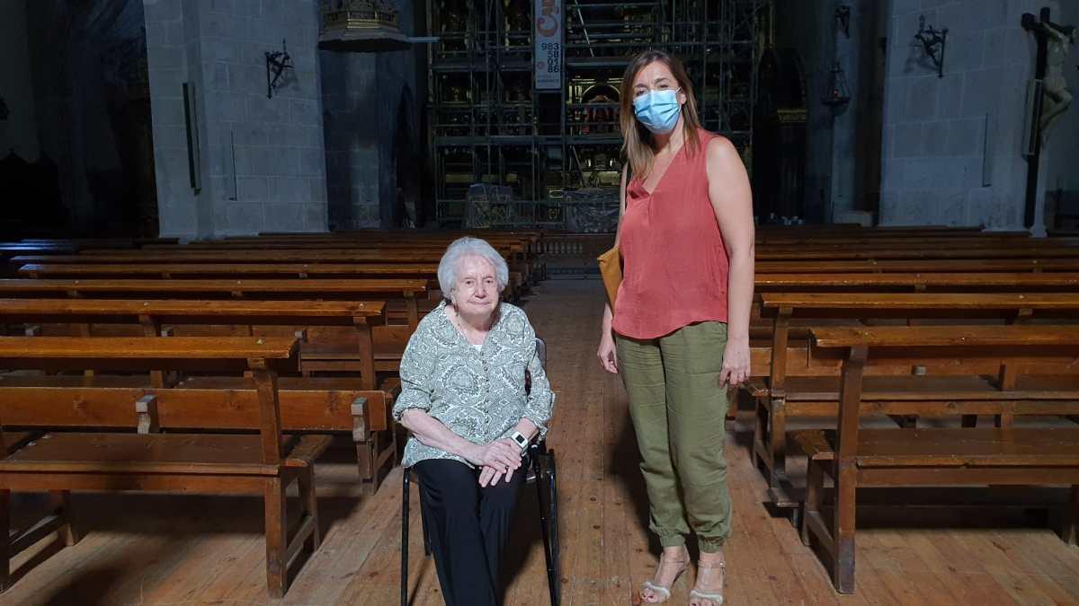 Tordesillas, lugar de inspiración artística para la organista internacional Montserrat Torrent