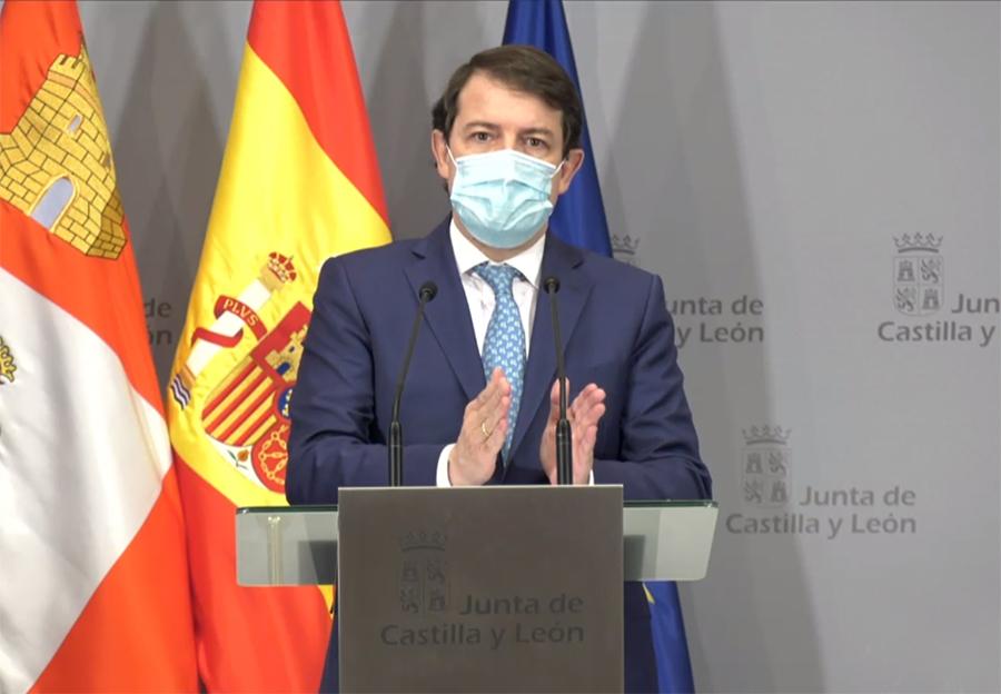 """La Junta prorroga las actuales restricciones ante el """"rápido avance de la pandemia en su tercera oleada"""""""