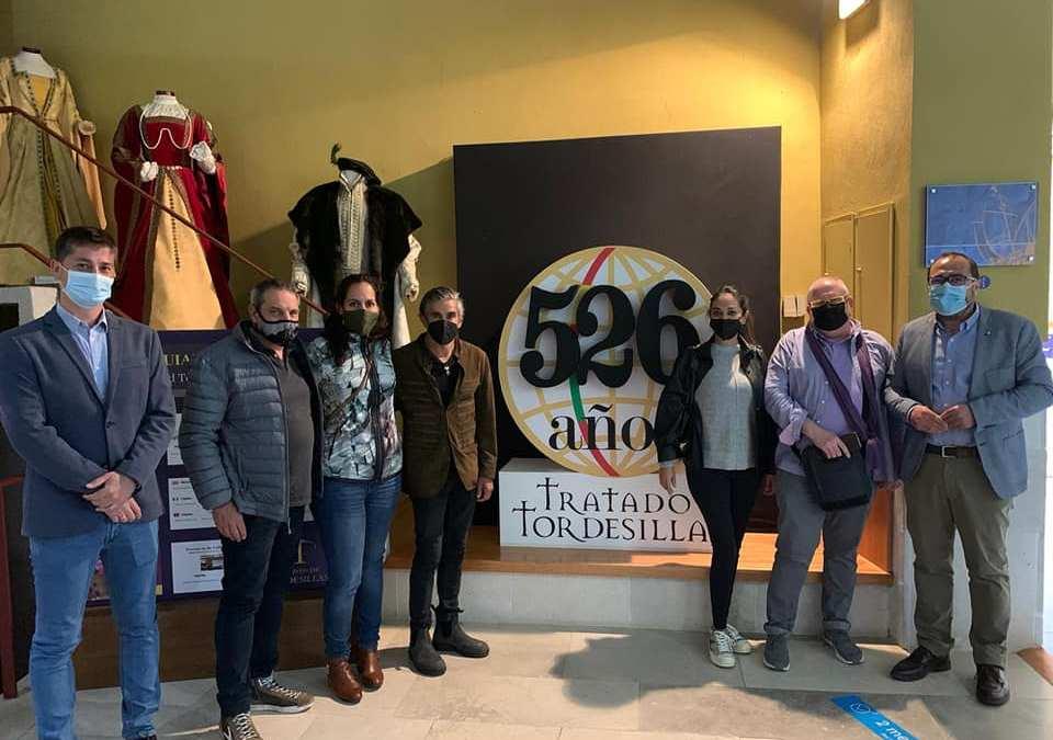 Turoperadores mexicanos visitan los activos turísticos de Tordesillas