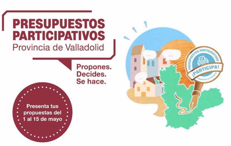 La Diputación inicia el proceso de presentación de propuestas de sus Presupuestos Participativos