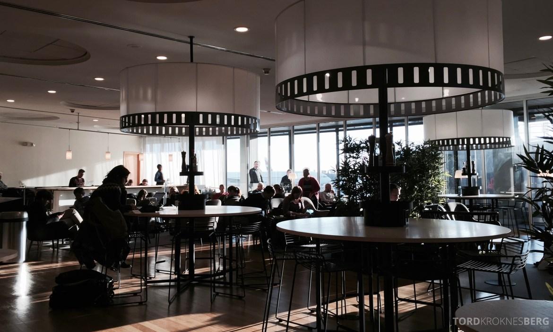 SAS Lounge New York stoler