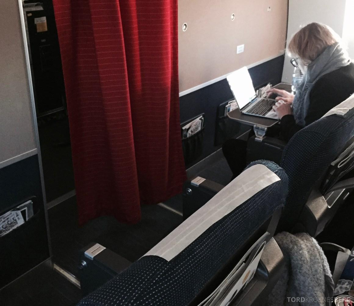 SAS Plus til Genève kabin