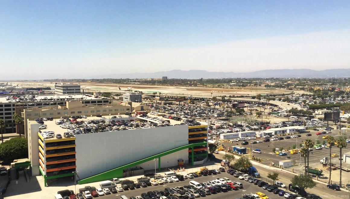 Sheraton Gateway LAX utsikt