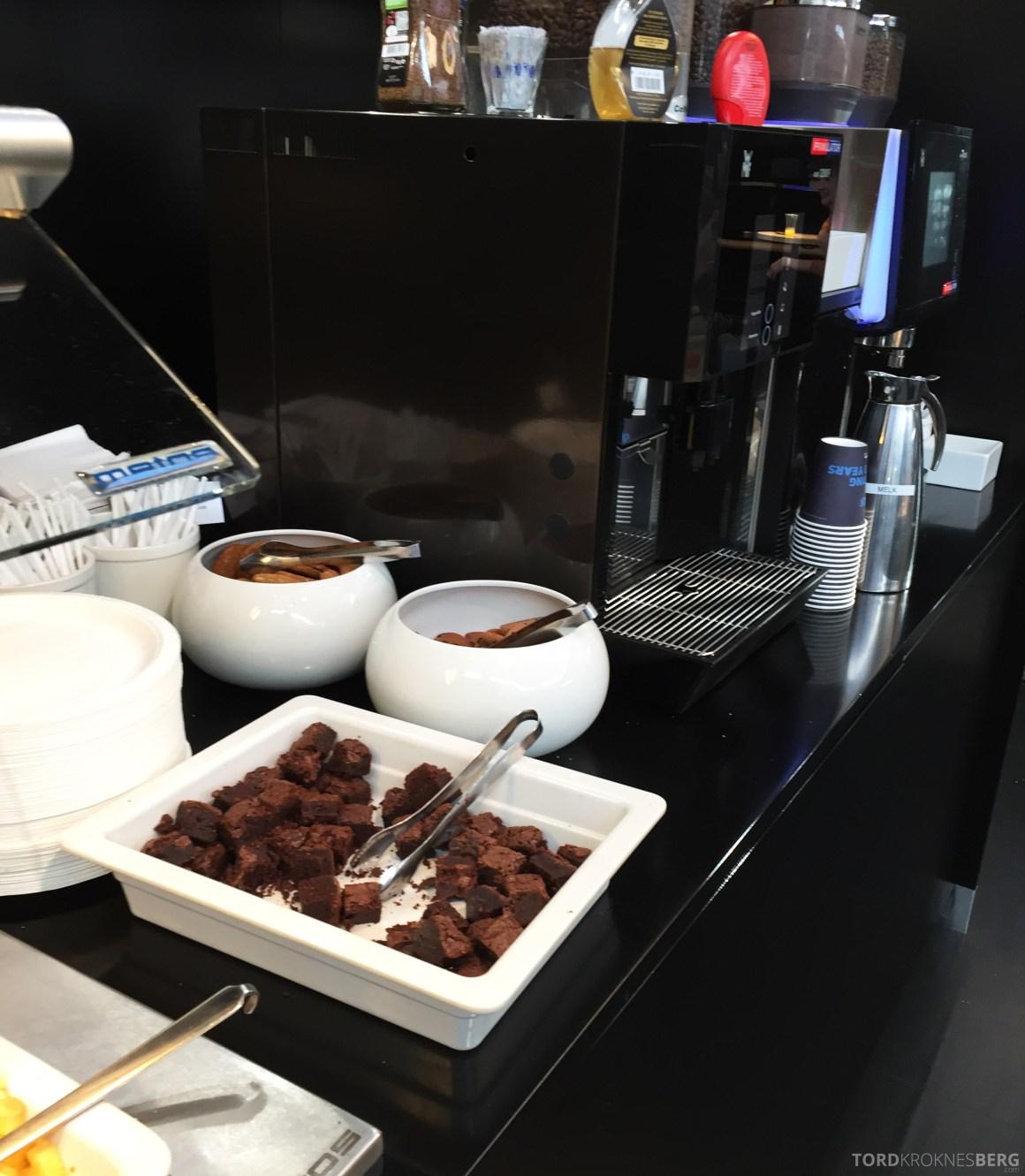 SAS Innenrikslounge Oslo brownies