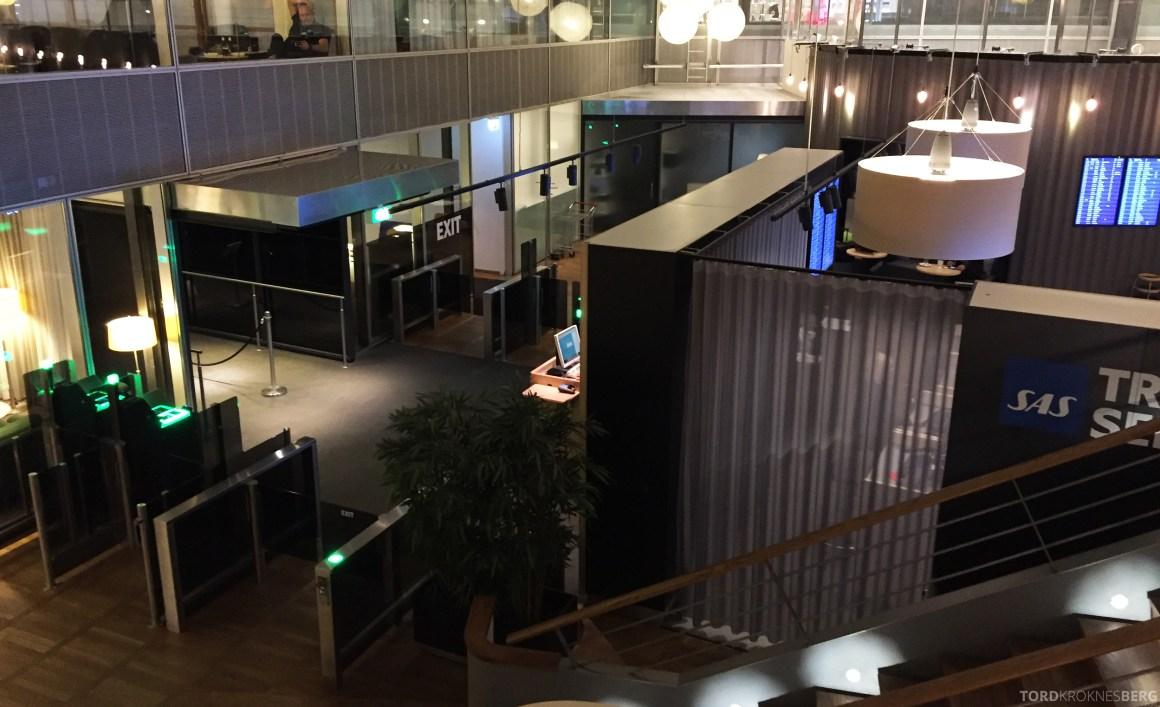 SAS Gold Lounge København resepsjon