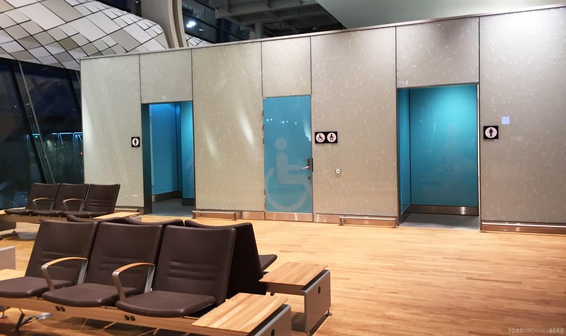 Nye Oslo Lufthavn toaletter
