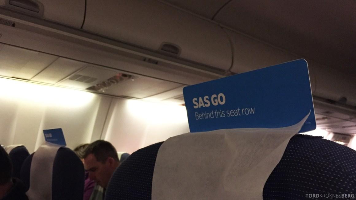 SAS Plus Oslo Zürich skilt