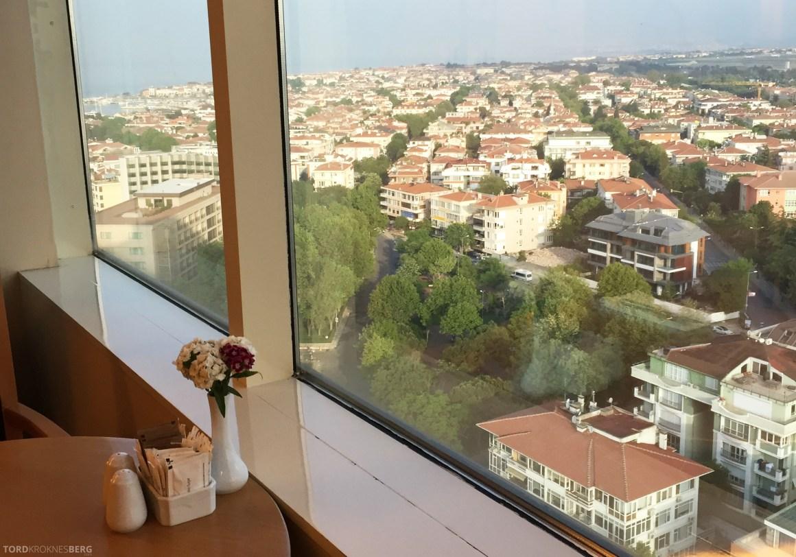 Renaissance Polat Istanbul Hotel Club Lounge utsikt