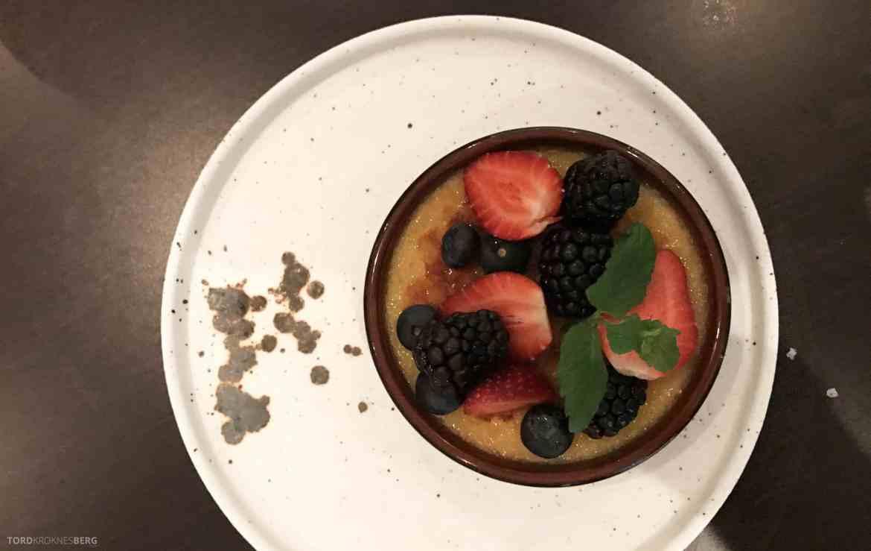 Restaurant Enzo Radisson Blu Oslo dessert