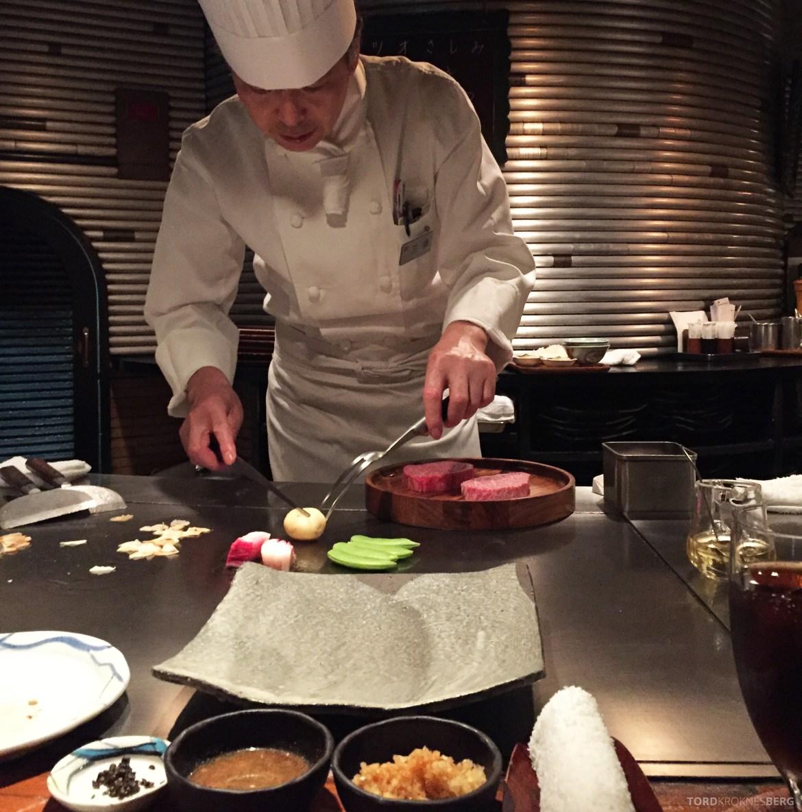 Restaurant Shinjuku Kobe Tokyo tilberedelse