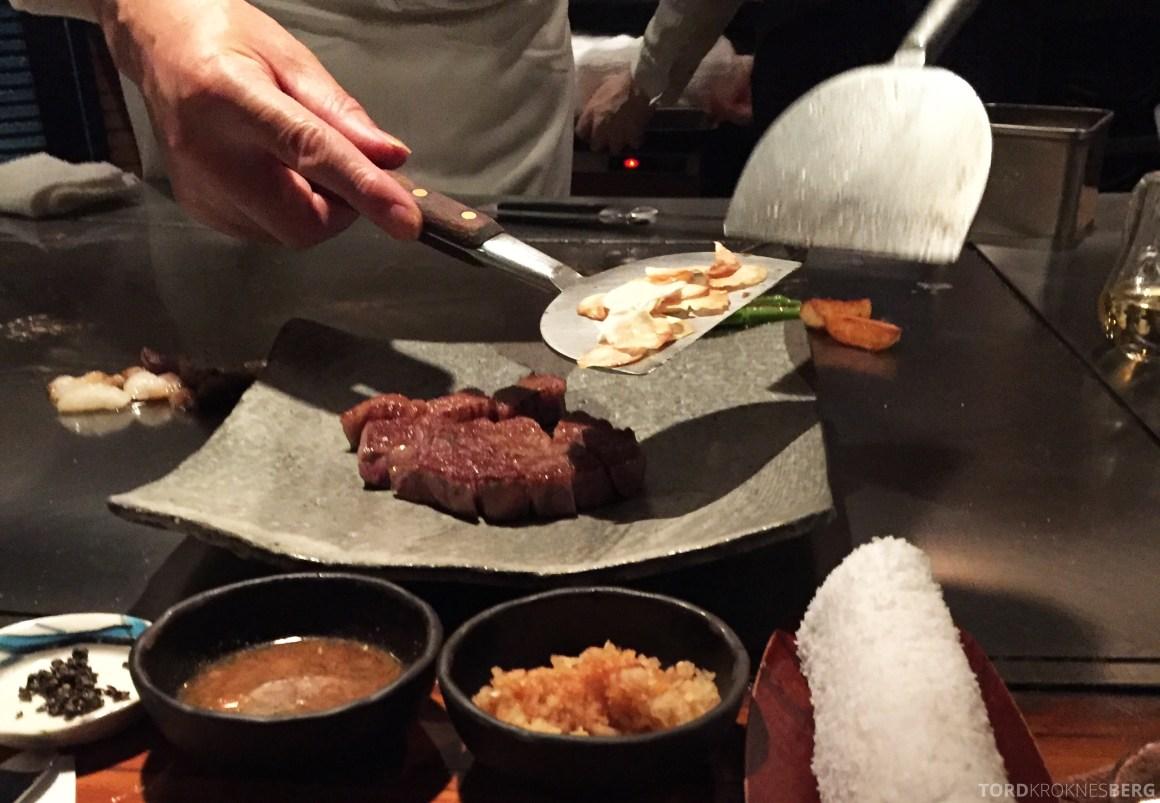 Restaurant Shinjuku Kobe Tokyo siste finish