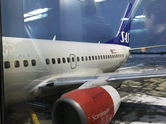 SAS Plus Barcelona fly