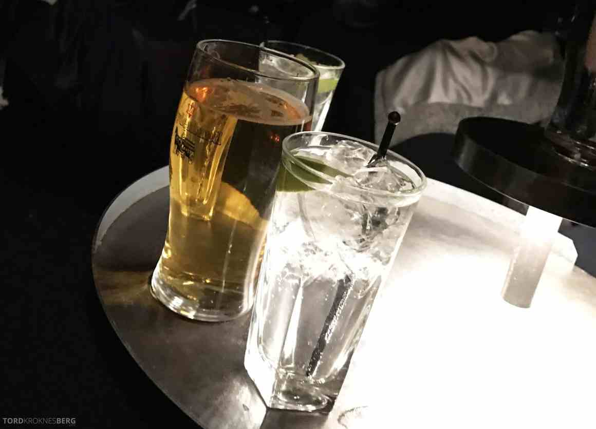 Summit Bar Radisson Blu Scandinavia øl og GT