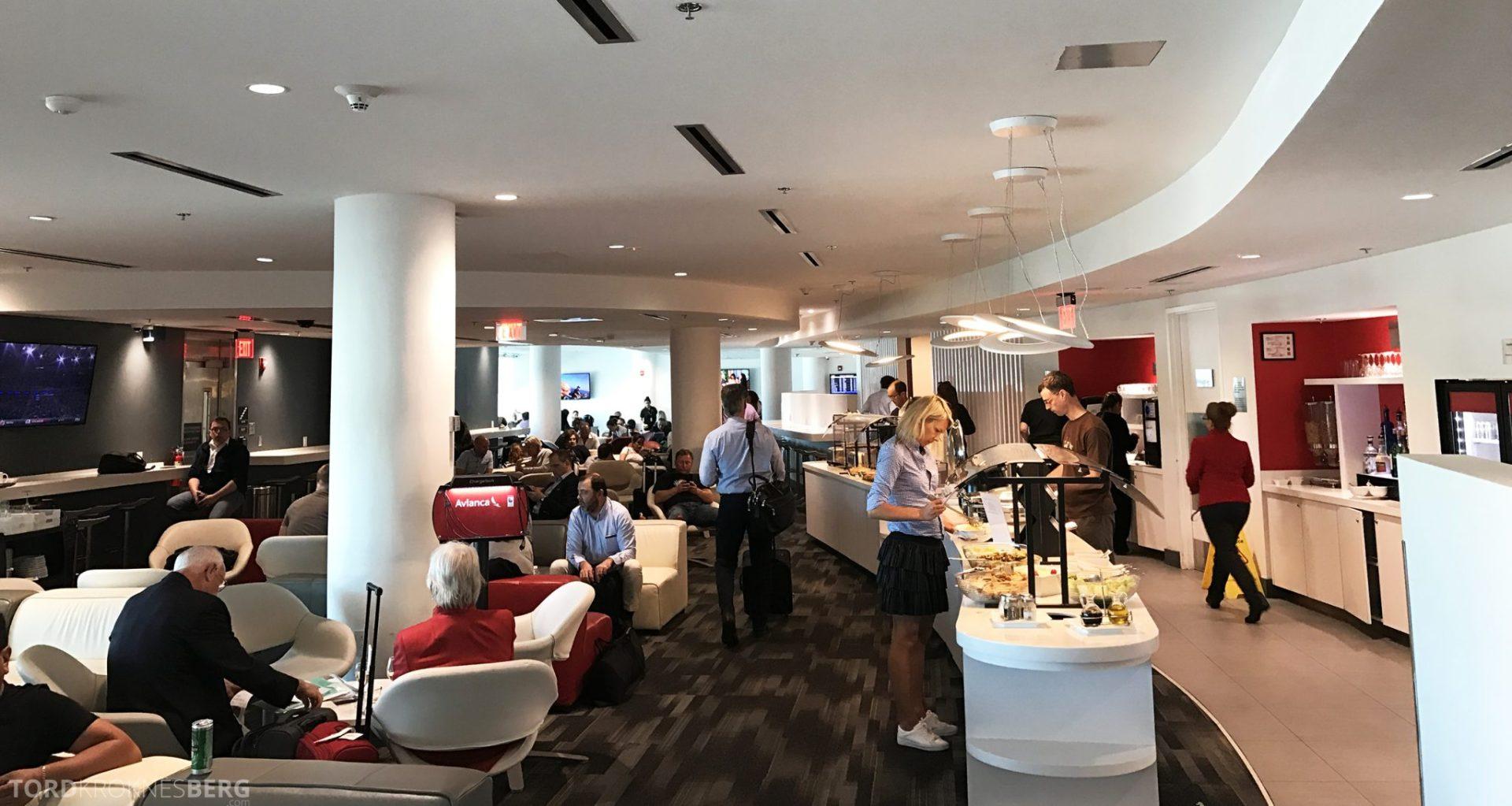Avianca VIP Lounge Miami oversikt