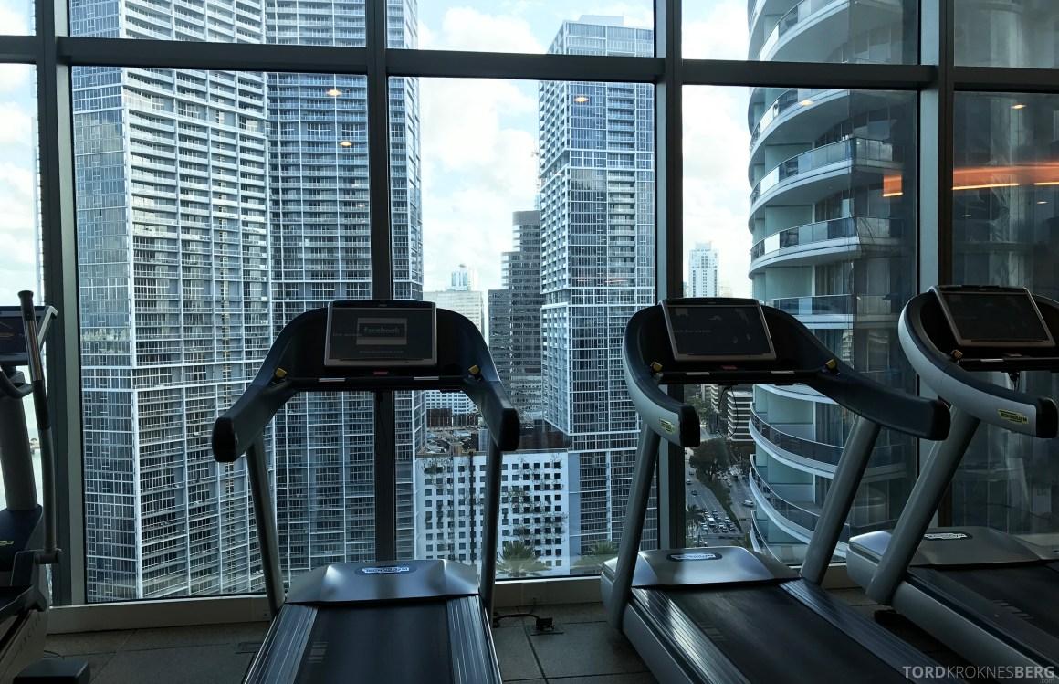 JW Marriott Marquis Miami utsikt trening