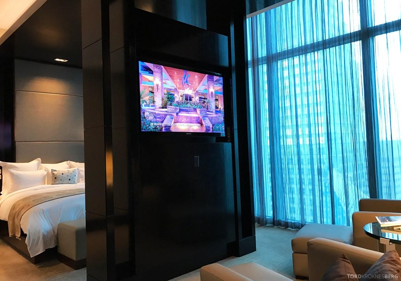 Presidential Suite JW Marriott Marquis Miami soverom