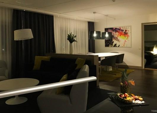 Radisson Blu Oslo Airport Hotel suite fra tv-kroken