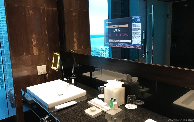 Vice Presidential Suite JW Marriott Marquis Miami bad