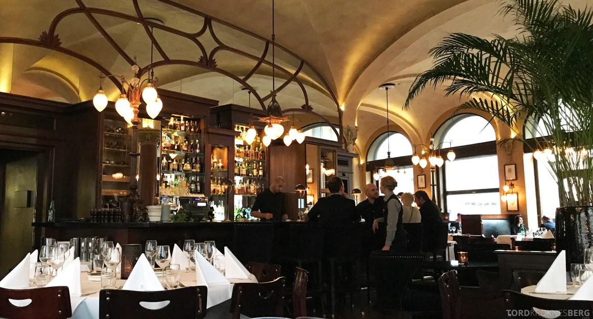 Restaurant Theatercafeen Oslo bar