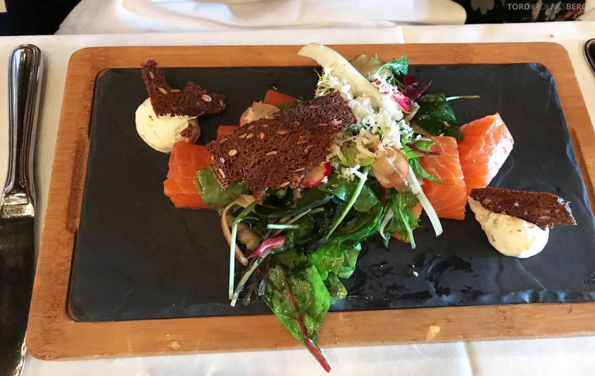 Louise Restaurant Bar Aker Brygge laks