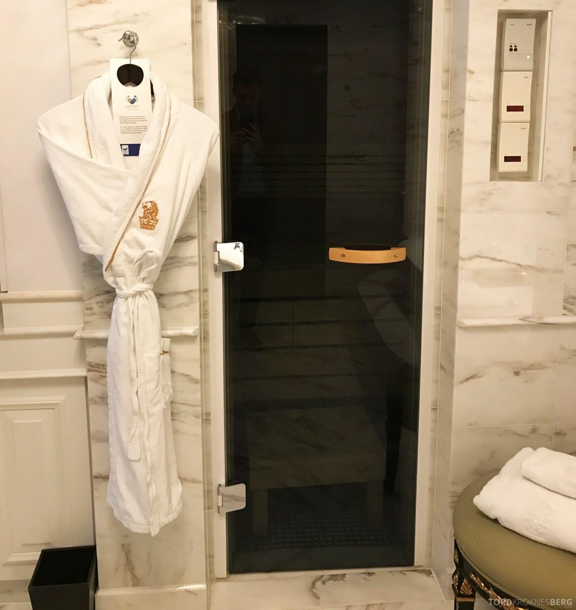 Ritz-Carlton Berlin Presidential Suite badsstue