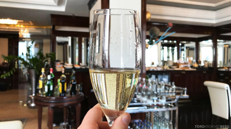 The Ritz-Carlton Berlin Club Lounge champagne