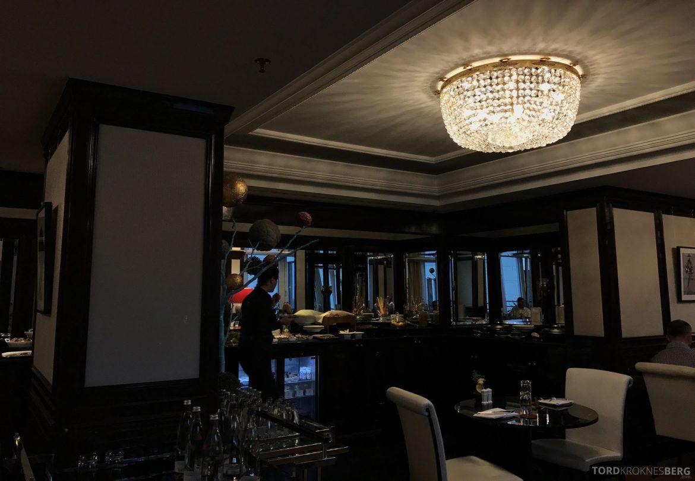 The Ritz-Carlton Berlin Club Lounge hors d'oeuvre