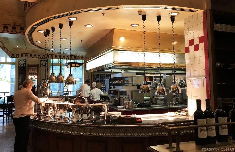 The Ritz-Carlton Berlin frokost kjøkken